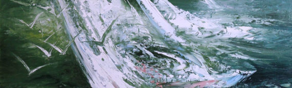 """Exhibition of paintings """"The sea screams a cry -a cry that penetrates a soul"""""""